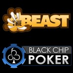 Double the Beast and the Money on Black Chip Poker